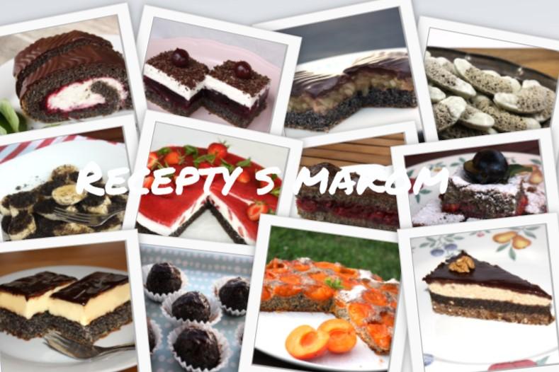 Recepty na zákusky, koláče a torty s makom