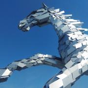 Socha koňa v Šamoríne