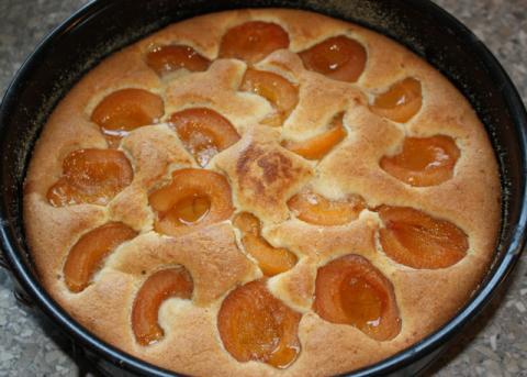 Marhuľový koláč - recept postup 11