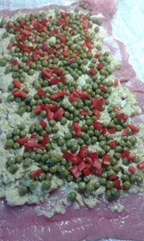 sviatočná mäsová roláda - recept postup 4
