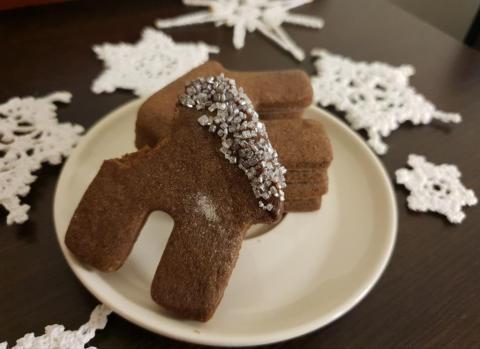 Kakaové sublimujúce sa koláčiky - recept postup 2
