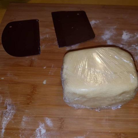 Jablkový koláč americkej babky - recept postup 3