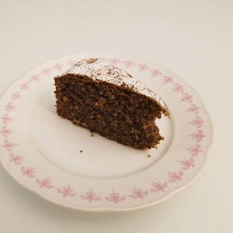 Torta z pohánkovej múky - bezlepková - recept postup 1
