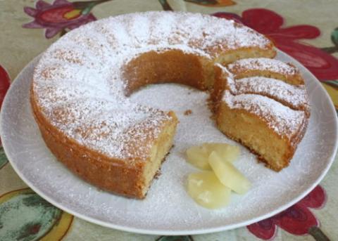 Ananásový koláč - recept postup 11