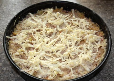 Švédsky jablkový koláč - recept postup 11