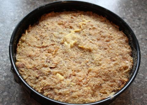 Švédsky jablkový koláč - recept postup 12