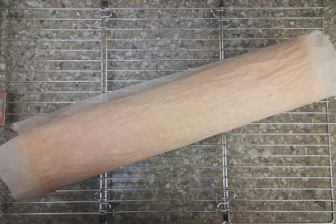 Svieža broskyňová roláda - recept postup 3