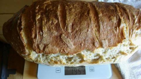 Chlebík z rúry - recept postup 1