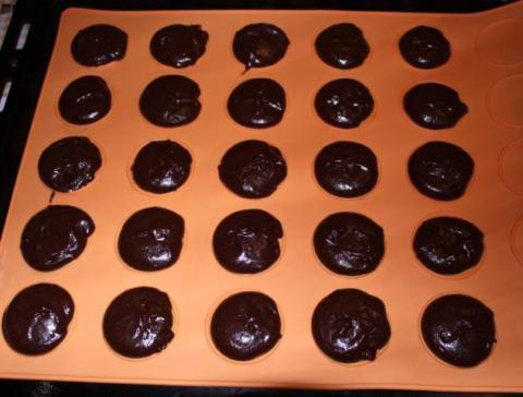Mini čokoládové koláčiky - recept postup 3