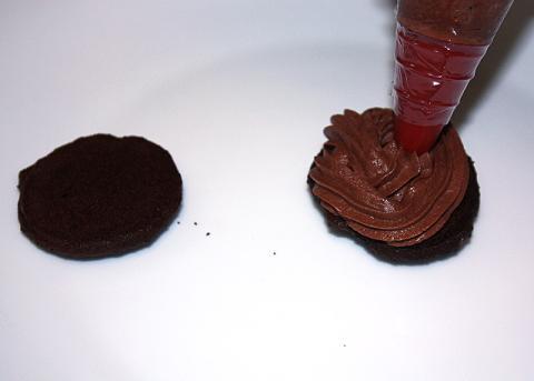 Mini čokoládové koláčiky - recept postup 9
