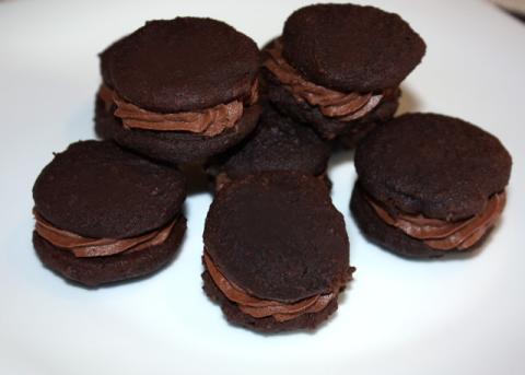 Mini čokoládové koláčiky - recept postup 10