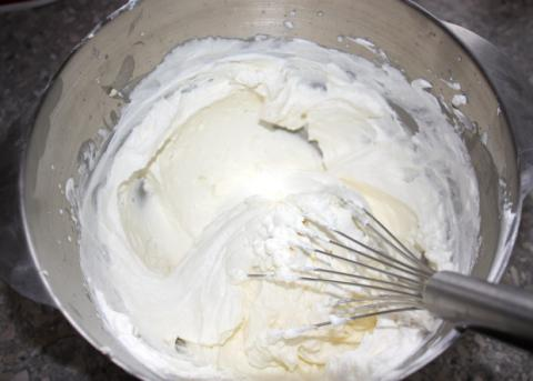 Čokoládovo-smotanové lasagne - recept postup 2