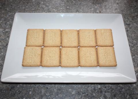 Čokoládovo-smotanové lasagne - recept postup 3