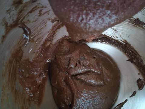 Overený recept na čokoládové makrónky - recept postup 9
