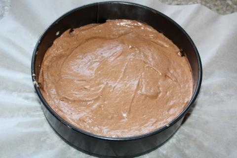 Čokoládovo jahodová torta - recept postup 1