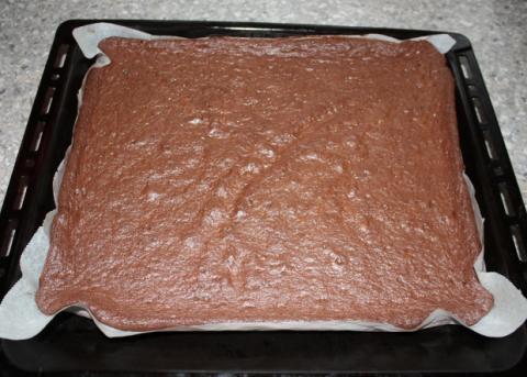 Čokoládovo orechové rezy bez múky - recept postup 3