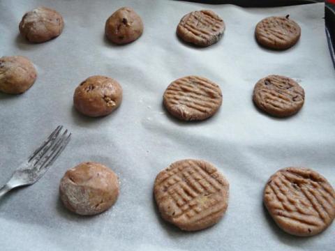 Sušienky s orechami a čokoládou - recept postup 1