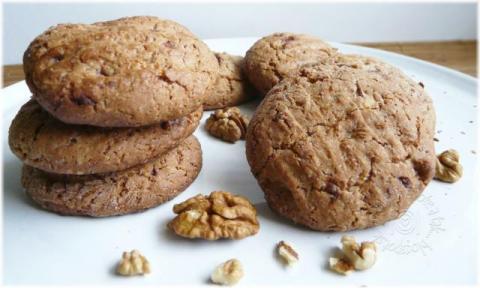 Sušienky s orechami a čokoládou - recept postup 2