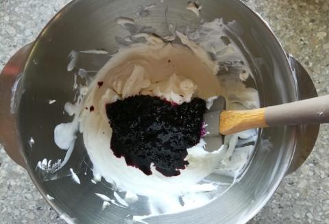 Čučoriedkovo tvarohové rezy bez múky - recept postup 5