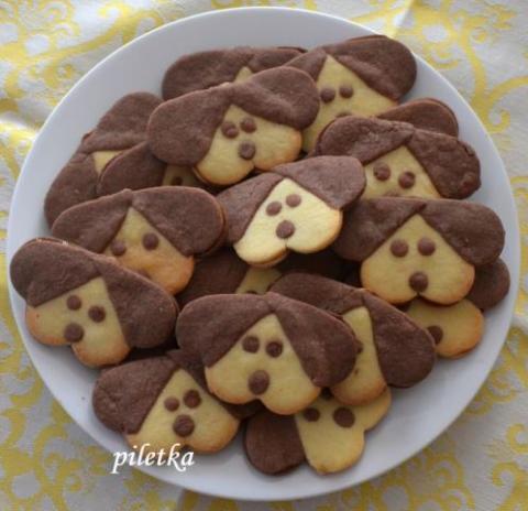 Linecké koláčiky deťom - recept postup 1