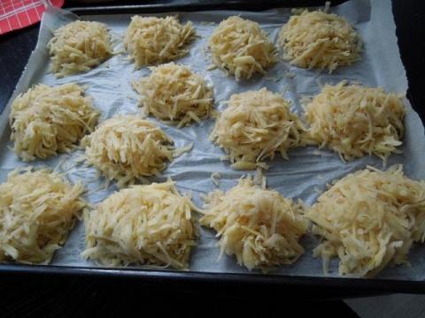 kura na kapuste a zemiakové hniezda - recept postup 2