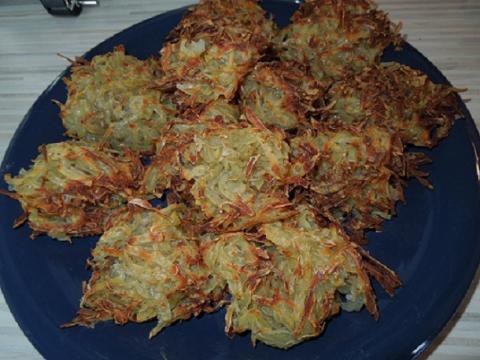 kura na kapuste a zemiakové hniezda - recept postup 3