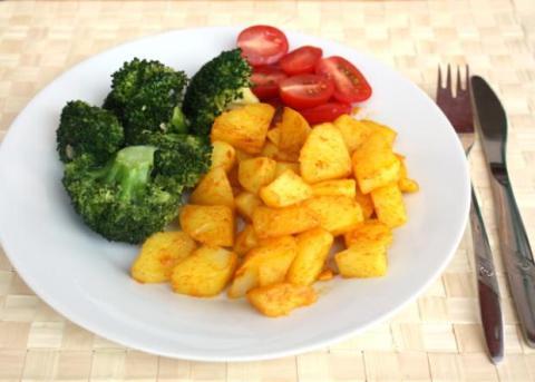 Brokolica jednoducho a chutne - recept postup 7