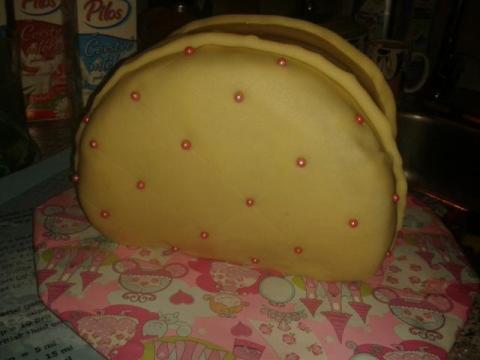 Torta pre Tamarku - KABELKA  - recept postup 6