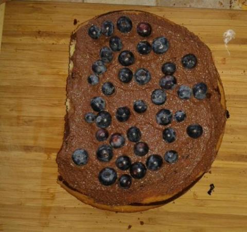 Torta pre Tamarku - KABELKA  - recept postup 4