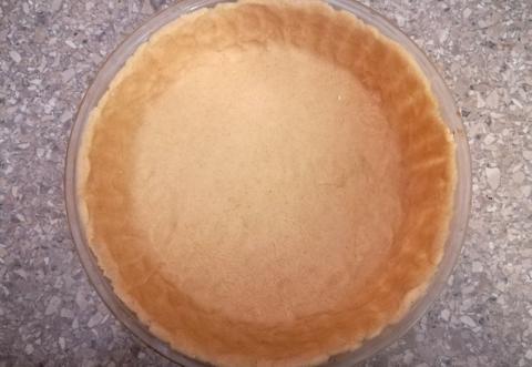 Holandský jablkový koláč - recept postup 2
