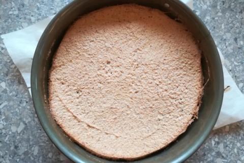 Mandľová torta v štýle Ikea - recept postup 5