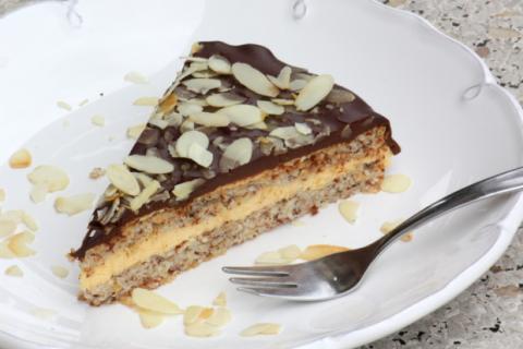 Mandľová torta v štýle Ikea - recept postup 11