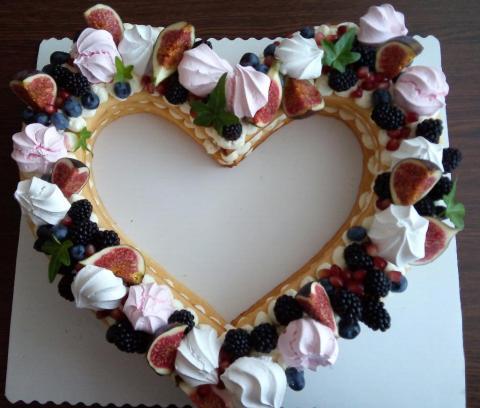 Linecké tortičky so žĺtkovým krémom a ovocím - recept postup 1