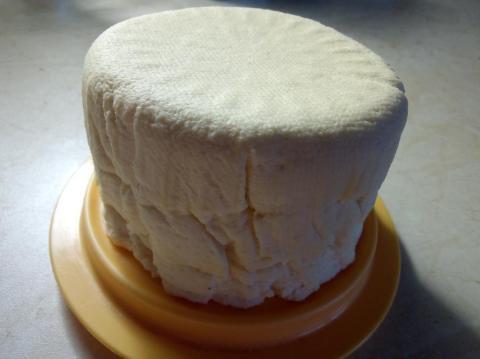 Domáci syr - hrudka - recept postup 2