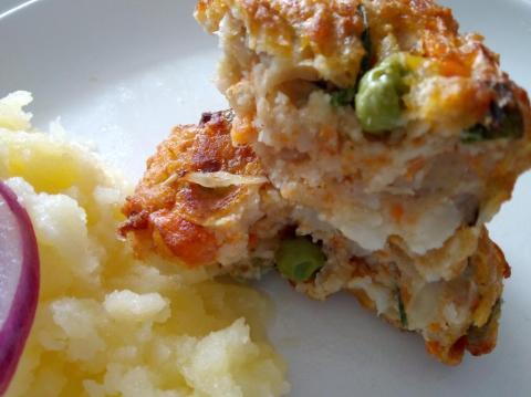 Zeleninové fašírky - recept postup 1