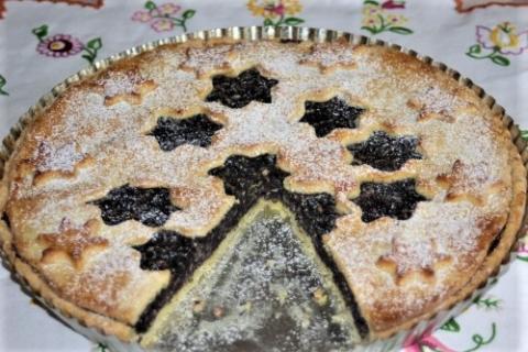 Jablkovo-makový koláč - recept postup 1