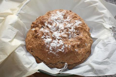 Írsky chlieb - recept postup 5