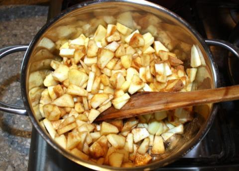 Jablková roláda - recept postup 6