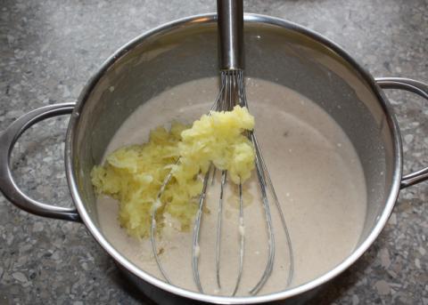 Jablkové palacinky - recept postup 2