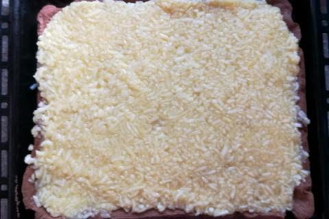 Fantastický jablkový koláč so smotanovou náplňou - recept postup 2