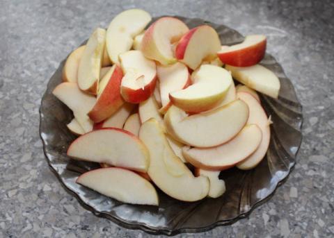 Jablkový koláč zo štyroch ingrediencií - recept postup 5