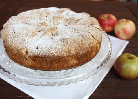Jablkový koláč zo štyroch ingrediencií - recept postup 8