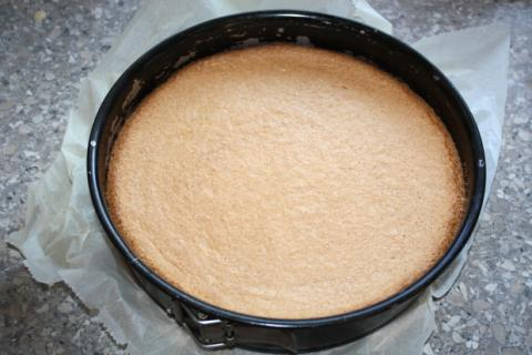 Jahodová torta - recept postup 2