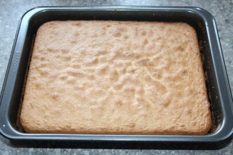Jahodový koláč - recept postup 3