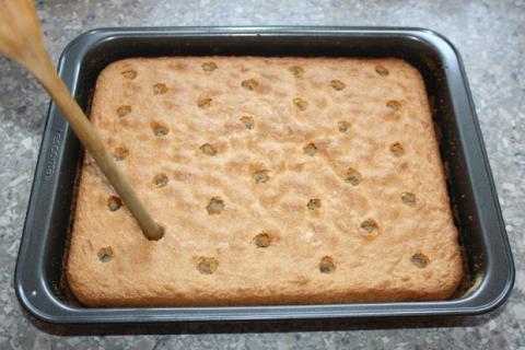 Jahodový koláč - recept postup 4