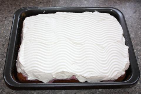 Jahodový koláč - recept postup 11