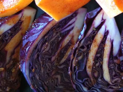 Červená kapusta pečená v rúre - recept postup 3