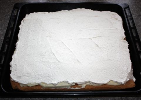 Kokosovo-ananásový zákusok  - recept postup 10