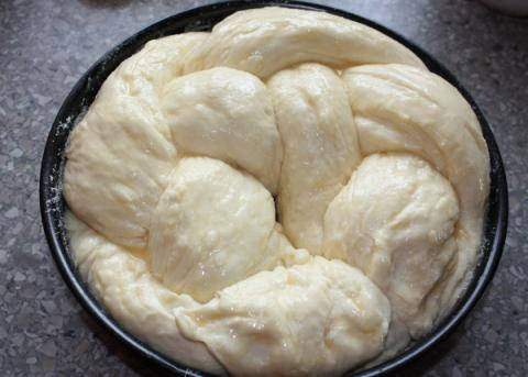 Veľkonočný koláč - recept postup 6
