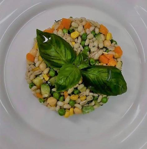 Jačmenné krúpy so zeleninou - krupoto - recept postup 1
